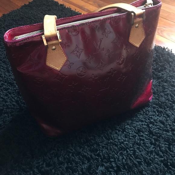 Louis Vuitton Handbags - AUTHENTIC LV Monogram Vernis Houston Bag 2106f39a47b39