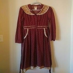Vintage Gunne Sax Midi Dress