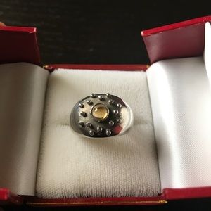 Jewelry - Silver ring with citrine
