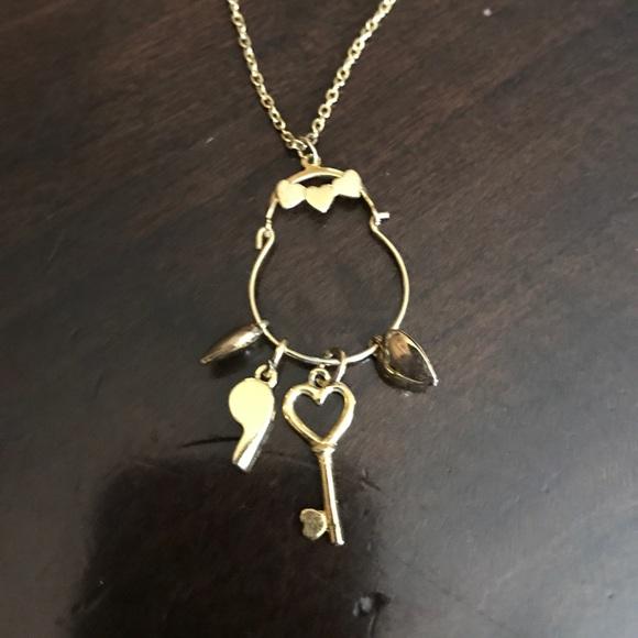 3d70ac07c Jewelry | Vintage 80s 14k Charm Holder Necklace 4 Charms | Poshmark