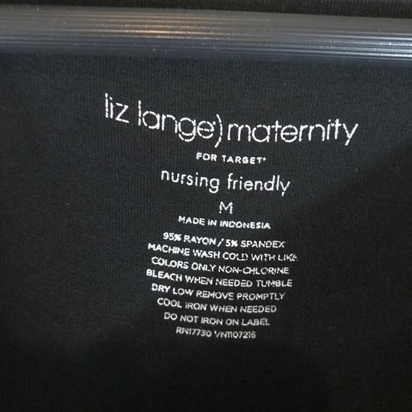 Liz Lange for Target Dresses - Liz Lange maternity black dress