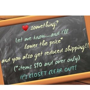 Closet Clear out policy in effect until 12M 12/11!