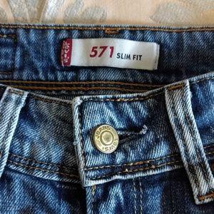 Levi's Jeans - Levi's 571 Slim Fit Jeans (25/32)