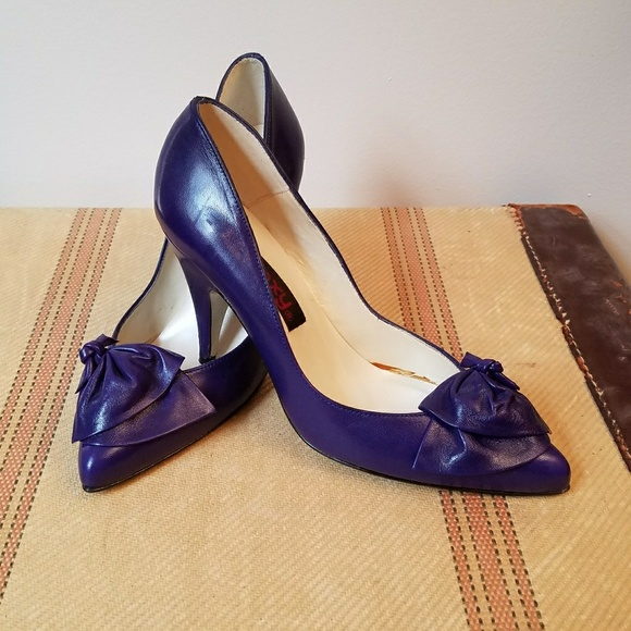 Royal Purple Converse Shoes
