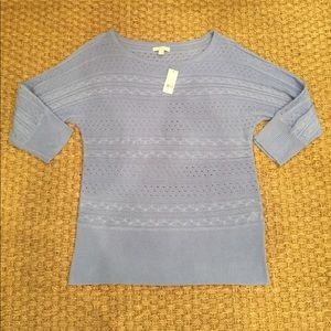 NWT NY&C periwinkle blue sweater