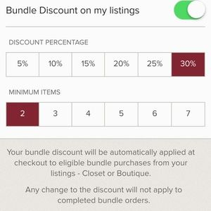 Other - ENDS 8/24 OFFER 30% OFF BUNDLES OF TWO ITEMS