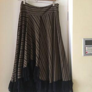 Dresses & Skirts - Asymmetric maxi skirt