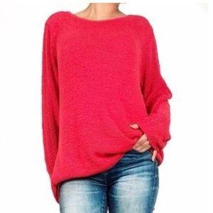 """Rachel Zoe """"Karla"""" Open Stitch Sweater"""