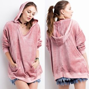 MIKAYLA Oh So Soft Top- MAUVE