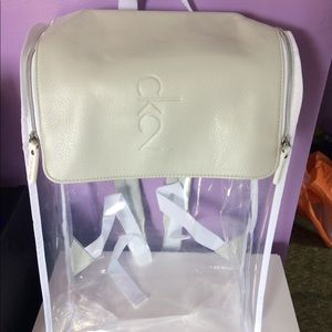 7d6b488f2f2be1 Calvin Klein Bags | Nwt Ck2 Clear Backpack | Poshmark