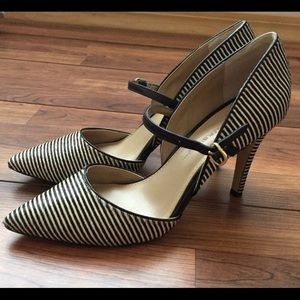 Banana Republic striped heels