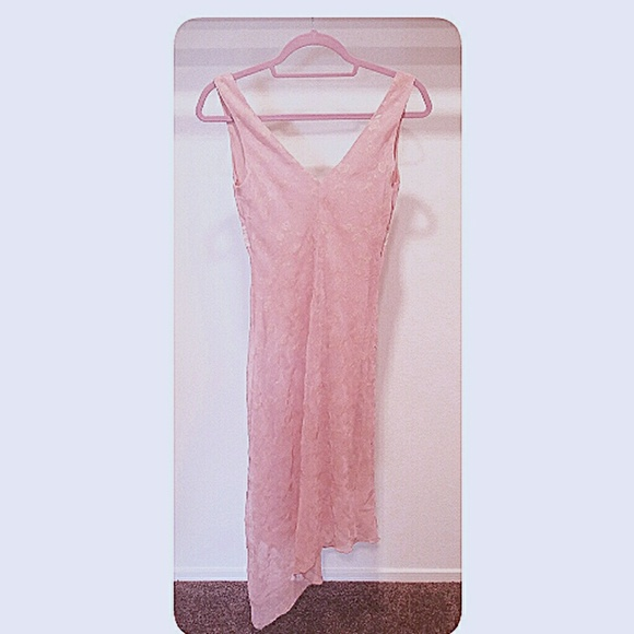 Ruby Rox Dresses - Ruby Rox Vintage Look Dress Antique Pink Junior S