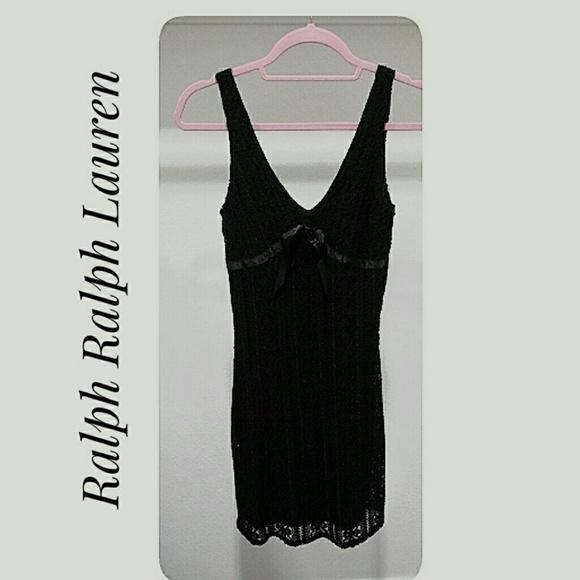 Ralph Lauren Dresses & Skirts - Ralph Ralph Lauren LBD Lace Tank Style Size XS