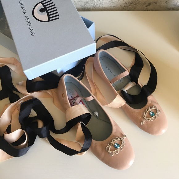 Chiara Ferragni Ballet Flats N32hlHD4E