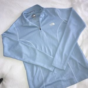 North Face Vapor Wick 1/4 Zip Pullover Size L