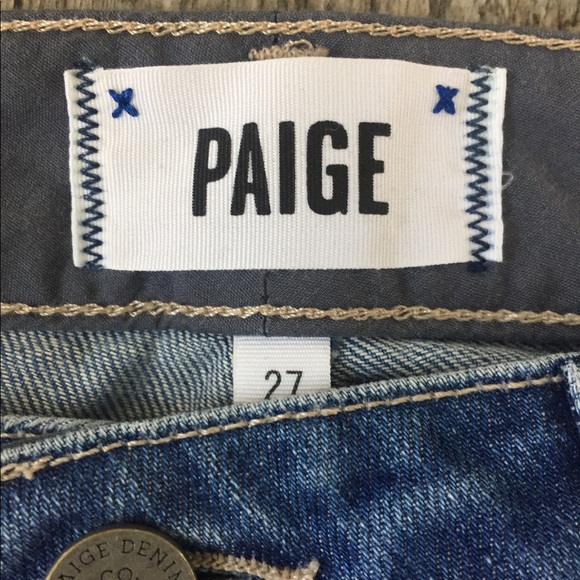 NWT Paige Jimmy Jimmy Crop