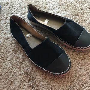 Black mossimo espadrilles size 7.5