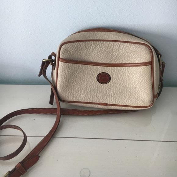 Dooney   Bourke Handbags - EDITORS PICK White leather Dooney Bourke  Crossbody 606ff62013