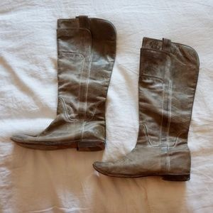 Tall Brown Frye Boots