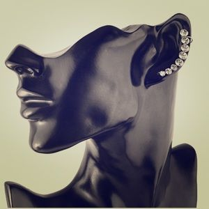 Jewelry - Stainless Steel Crystal Earrings