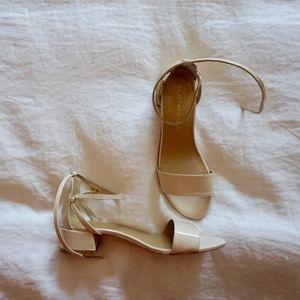 Nude Stuart Weitzman Sandals
