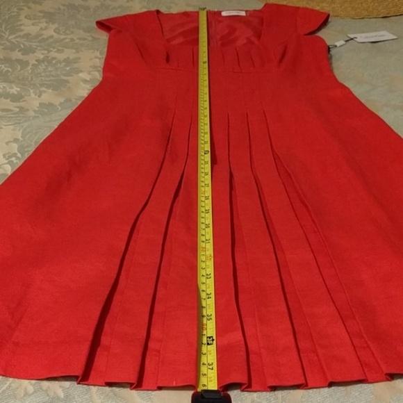 Calvin Klein Dresses - RARE NWT #CK #FireLinen Pleated #TulipDress