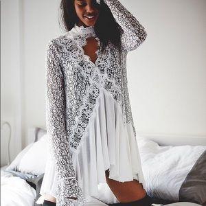 "Tops - 🌷NEW🌷 ""Zoe"" Snow Boho Festival Lace Dress, S-XL"