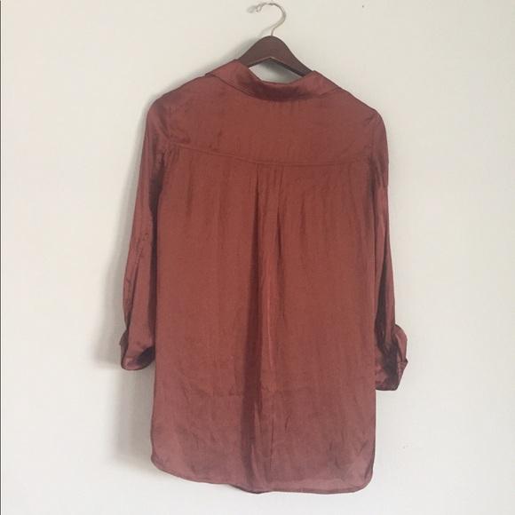 Vince Tops - vince scoopneck blouse size 6