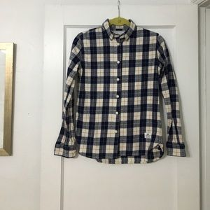 Penfield Plaid button down