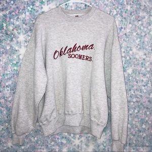 Vintage OU Sooners Sweatshirt