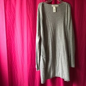 Gray Cardigan from h&m