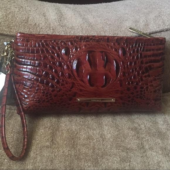 Brahmin Kayla (Pecan) Handbags NhRuK