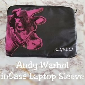 Andy Warhol Cow Laptop Sleeve inCase
