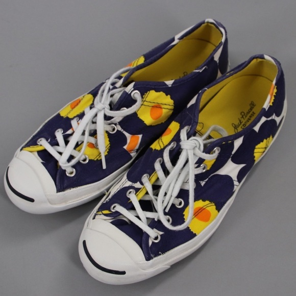 5fa56aef7b08 Converse Shoes - Marimekko Converse Jack Purcell Floral Sneakers