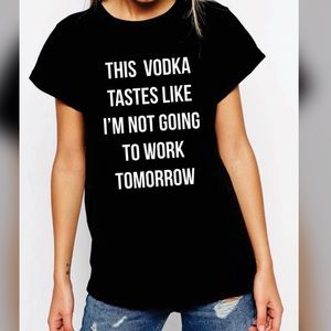 Tops - Vodka Graphic Tee