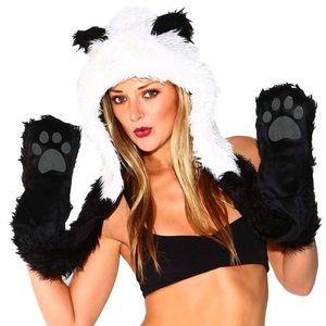 Panda hat NWOT