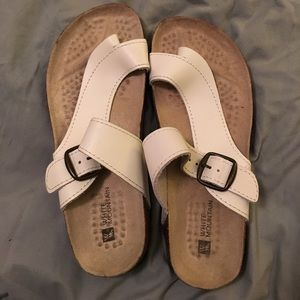 Shoes - White mountain sandals