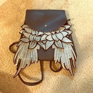 Handbags - Leather Wings Backpack 🎒
