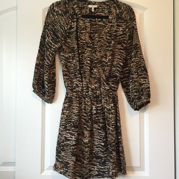 47632296c73 Joie Dresses   Skirts -  Joie  Animal print Molly dress - Size XS