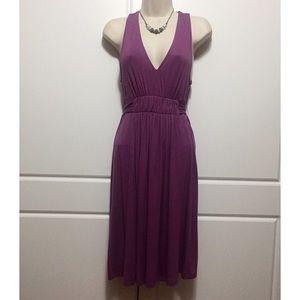 Trulli Purple Jersey Dress