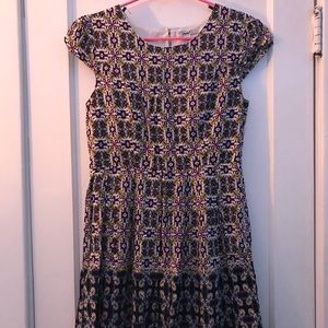 Women's Patterned Dress by Papaya (Women's size L)