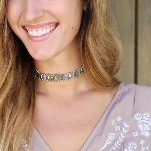 Jewelry - RESTOCKED mint beaded choker/bracelet