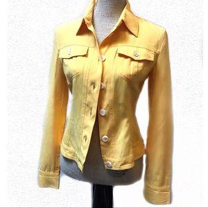 Vintage Linen Dolce & Gabbana Jacket