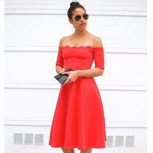 Dresses & Skirts - 🌹Red Carpet Off Shoulder Dress, M&XL
