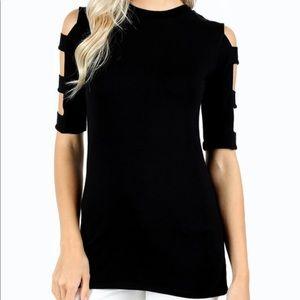Tops - 🆕 cut sleeve top