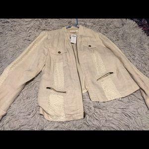 Lace Utility Jacket