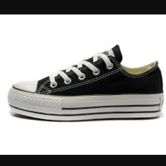 converse shoes thick sole