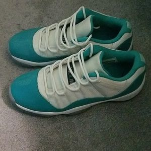 ab08453bd16 Women Aqua 11 Jordans on Poshmark