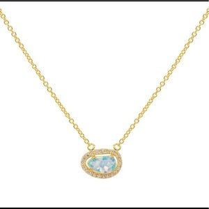Opal choker necklace by FRonay real 925 silver