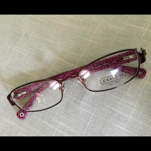 Stylish Coach eyeglass frames new. 2nd PRICE DROP! NWT